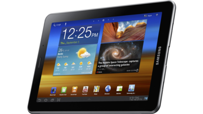 Galaxy Tab 7.7 mit Android 3.2