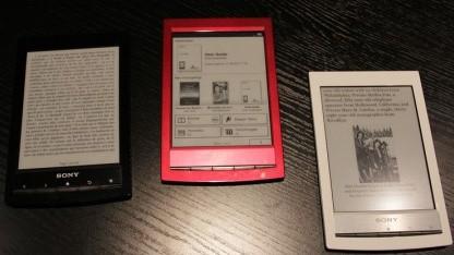 Farbig: Sonys neuer E-Book-Reader Wi-Fi PRS-T1