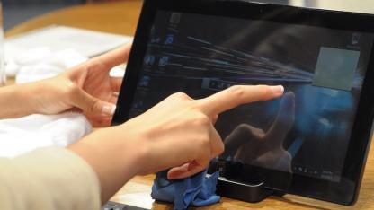 Leichter Tablet-PC von Samsung