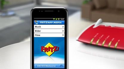 Fritz-App Media für Android