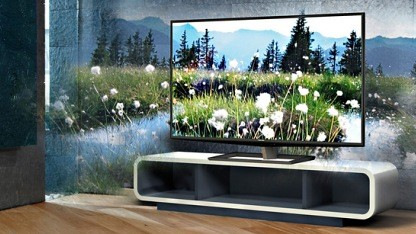 Auch der 3D-Fernseher hat das Design dieser Serie ZL2.