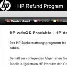 HP ist spendabel: Volle Differenz-Rückerstattung für WebOS-Geräte