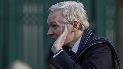 Assange im Februar 2011