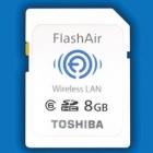 Toshiba Flashair: SD-Karte funkt und empfängt Daten