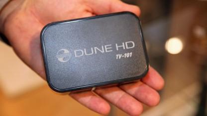 Dune HD TV-101 - HDI Dunes bisher kleinster Netzwerk-Mediaplayer