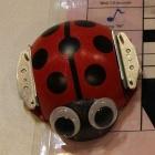 Ladybug Robot: Lernroboter mit Zahnbürstenantrieb