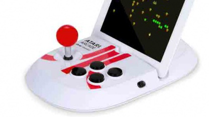 """Atari Arcade - Duo Powered"" - offizieller Atari-Joystick für das iPad"