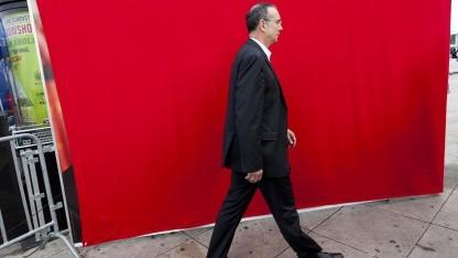 Harald Wolf im Berliner Wahlkampf