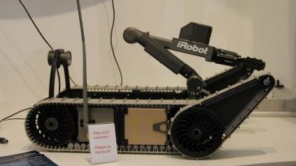 Packbot: keine Killermaschinen