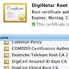 Diginotar: Betriebssystem-Patches entfernen Root-Zertifikate