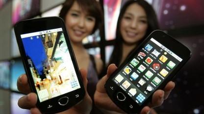 Angeblich keine andere Suchmaschine zugelassen: Android-Smartphone in Südkorea