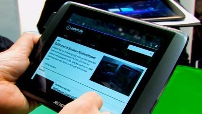 Archos' neue Tablet-Generation mit einsteckbarem Modem