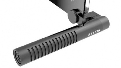 Belkin Liveshot Mic für Tonaufzeichnungen mit iPhone oder iPod