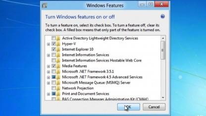 Windows 8 kommt mit Hyper-V.