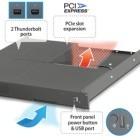 Sonnet Rackmac Mini: Thunderbolt-Mac-Mini im Rack mit PCIe-Steckplatz