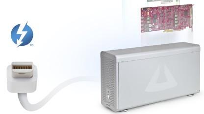 Thunderbolt-Gehäuse für drei PCIe-Karten