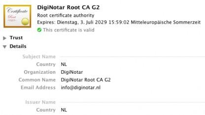 Diginotar-Zertifikate werden von Adobe-Programmen nicht mehr akzeptiert.
