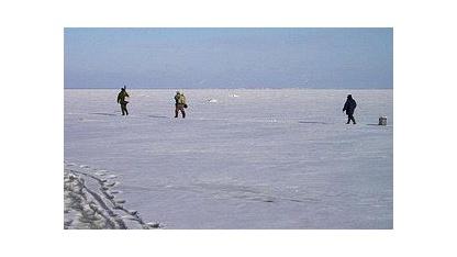 Fischer am Finnischen Meerbusen