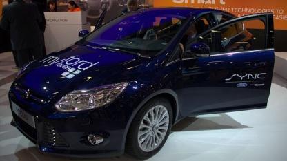 Ab 2012 wird Sync im Ford Focus ausgeliefert. Mit OpenXC können dafür Apps entwickelt werden.