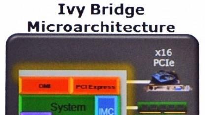 Blick auf die Ivy-Bridge-Architektur