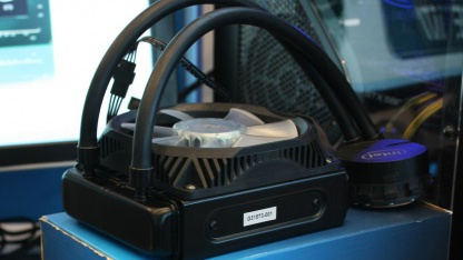 Flüssigkeitskühler von Intel