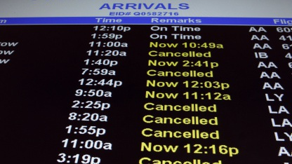 John F. Kennedy International Airport im Januar 2011