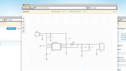 Upverter ist eine Browser-basierte Kollaborationsplattform für Hardware