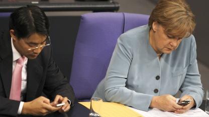 Kanzlerin Angela Merkel und Wirtschaftsminister Philipp Rösler