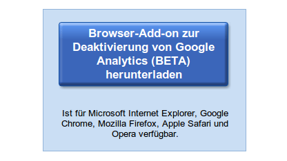 Google hat Analytics an die Datenschutzbestimmungen in Deutschland angepasst.
