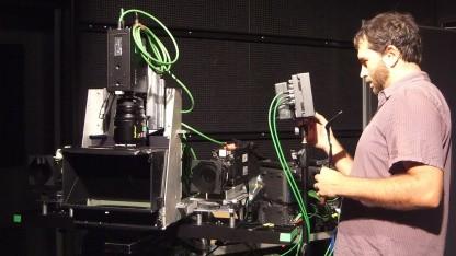 Vier-Kamera-Assistenzsystem bei der Einrichtung