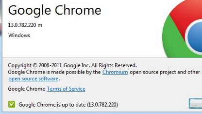 Der Updatedienst Omaha 3 sorgt für aktuelle Versionen von Googles Browser.