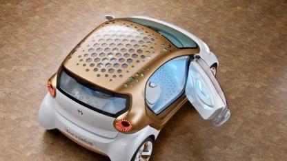 Smart Forvision - ein Elektroautokonzept für 2020