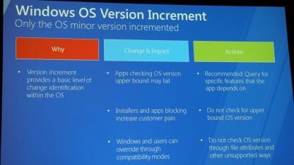 Kleine Änderungen können Desktop-Apps unter Windows 8 Probleme machen.