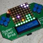 Super Pixel Bros: Mario mit 64-Pixel-Grafik