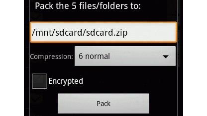 Der Total Commander für Android hat unter anderem einen Entpacker für Zip- und Rar-Dateien.