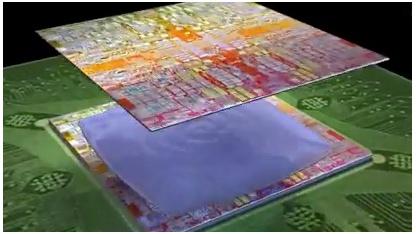 Neue Klebemittel sollen kompakte Chipstapel ermöglichen.