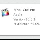 Update: Final Cut Pro X jetzt mit XML und Demo