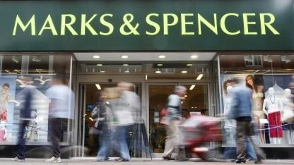 Filiale des britischen Unternehmens Marks & Spencer in Richmond