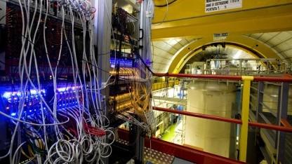 Opera-Experiment misst Neutrinos schneller als das Licht.