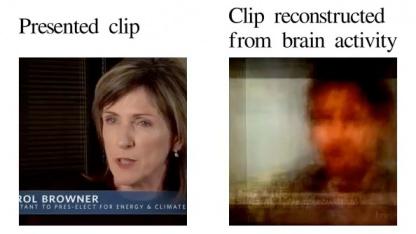 Ein Beispiel für ein rekonstruiertes Videobild