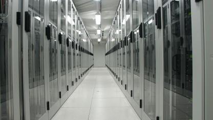 Rechnerräume bei 1&1