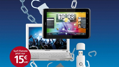 Neue Datentarife: O2s mobiles Internet ab 15 Euro im Monat