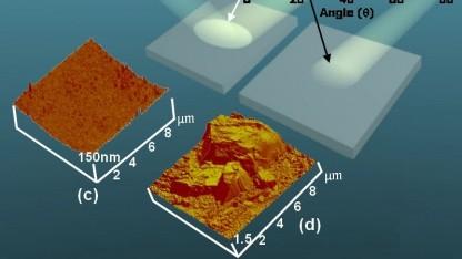 Photonen regelrecht eingesogen: hyberbolisches Metamaterial