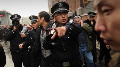 Polizei in Schanghai