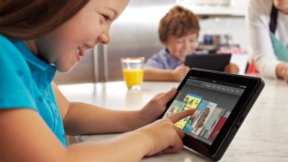 Amazons 7-Zoll-Tablet Kindle Fire könnte Gesellschaft bekommen.