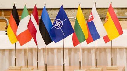 Flaggen am CCDCOE