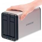 Silverstore 2-Drive NAS: Freecoms Netzwerkspeicher für bis zu 6 TByte Daten