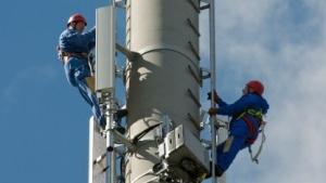 LTE-Sendemast in Kyritz (Brandenburg)