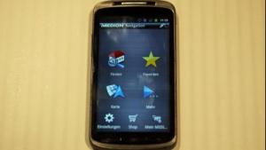 Das erste Medion-Smartphone