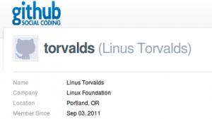 Linus Torvalds hostet die aktuelle Entwicklerversion des Linux-Kernels selbst.